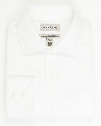 Stretch Sateen European Fit Shirt
