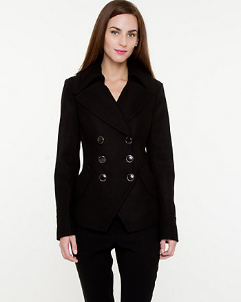 Melton Pea Jacket