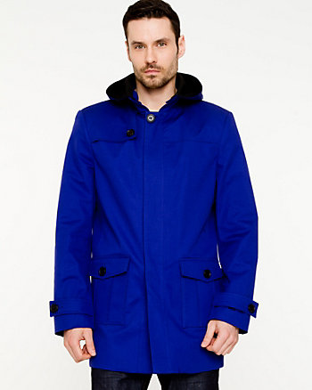 Cotton Hooded Mailman Jacket