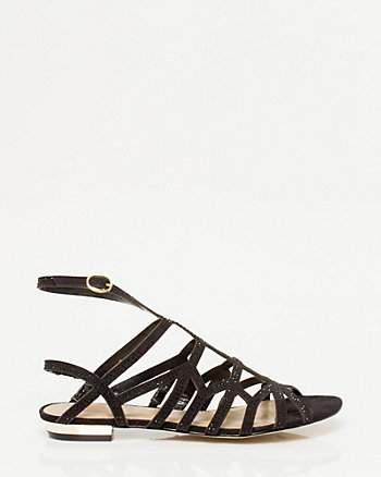 Jeweled Gladiator Sandal