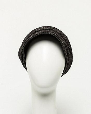 Wool Blend Jockey Hat