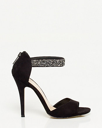 Jeweled Ankle Strap Sandal