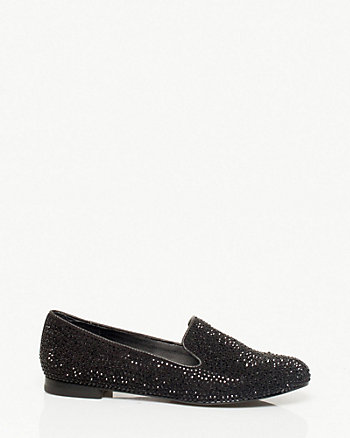 Jewel Encrusted Loafers