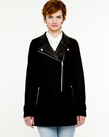 Melton Notch Collar Jacket
