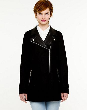 Melton Notch Collar Jacket