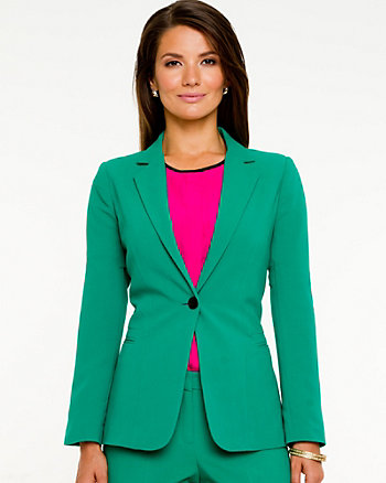 Double Weave Euro Fit Blazer