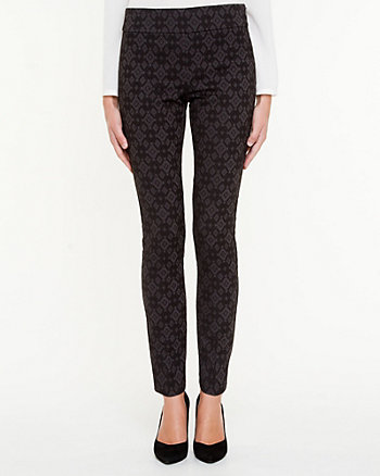 Jacquard Fitted Pant