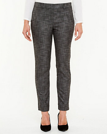 Crosshatch Slim Leg Pant