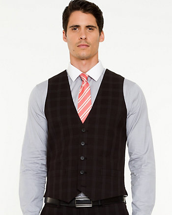 Check Contemporary Fit Vest