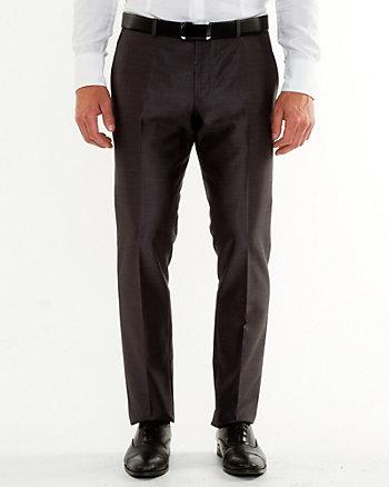 Pantalon de piqué à jambe étroite