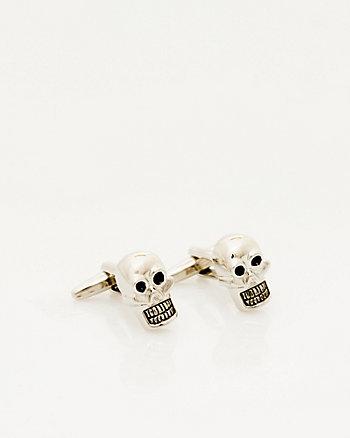 Metal Skull Cufflink