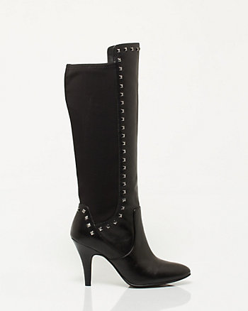 Leather Pointy Toe Boot