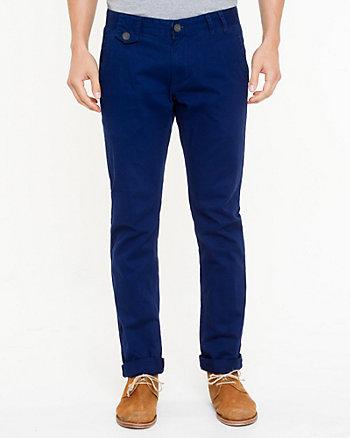 Cotton Slim Leg Pant