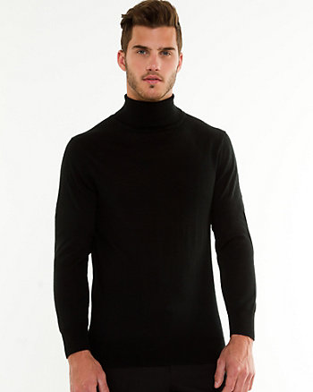 Wool Blend Semi-fitted Sweater