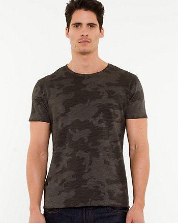 Studded Knit T-shirt