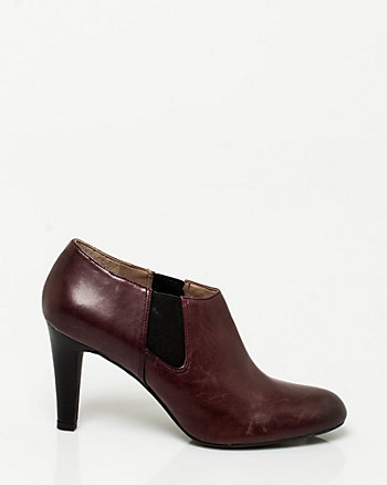 Leather Shootie