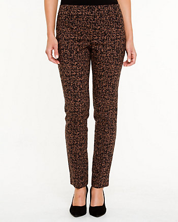 Modern Fit Jacquard Skinny Pant