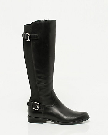 Italian Design Leather Riding Boot