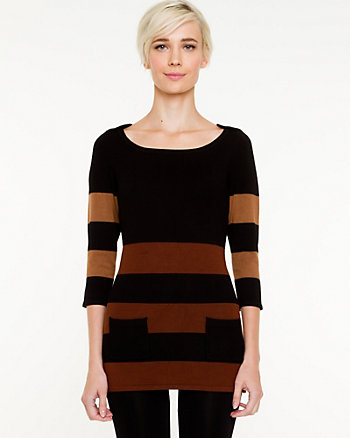 Stripe Sweater Tunic