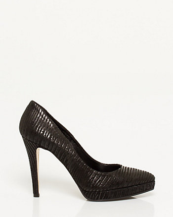 Italian Made Faux Leather Pump