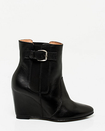 Spanish Made Leather Bootie