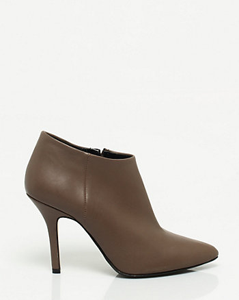 Italian Made Leather Bootie