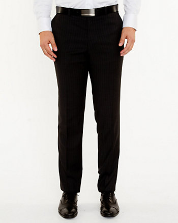Italian Wool Slim Let Pant