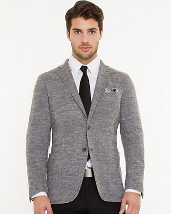 Italian Wool Slim Fit Blazer