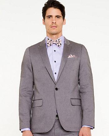 Cotton Twill Slim Fit Blazer