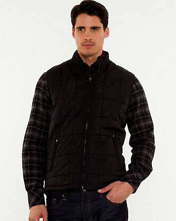 Reversible Motorcycle Puffer Vest