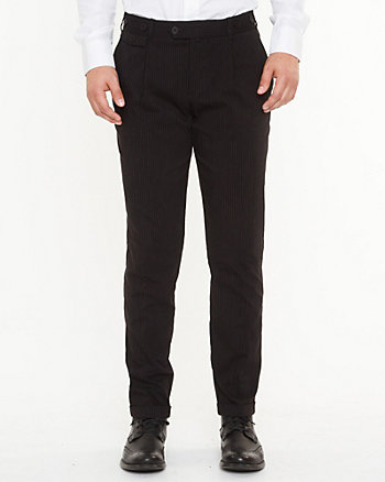 Stretch Bengaline Slim Leg Pant