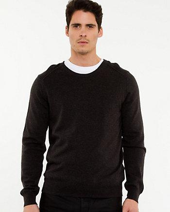 Chandail de tricot côtelé