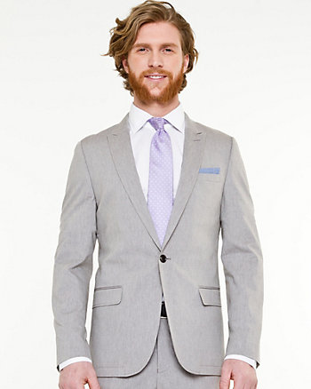 Cotton Twill Contemporary Fit Blazer