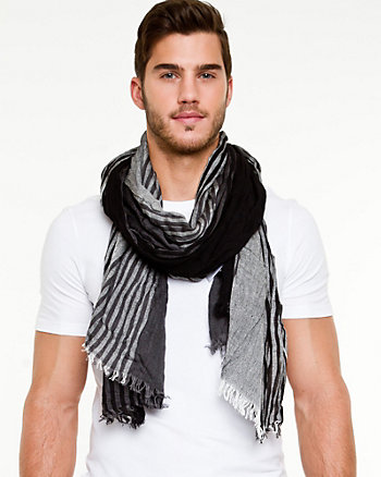 Stripe Lightweight Scarf