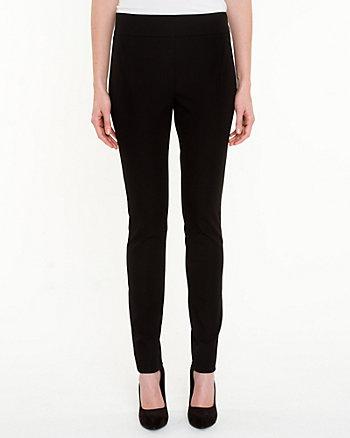Cotton Gabardine Skinny Leg Pant