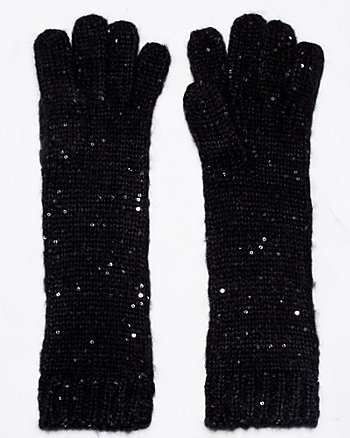 Sequin Long Gloves