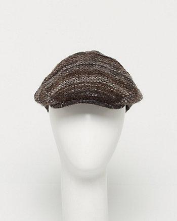 Bouclé Tweed Ivy Cap