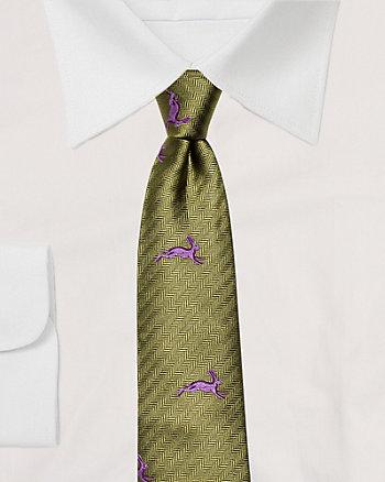 Silk Rabbit Skinny Tie