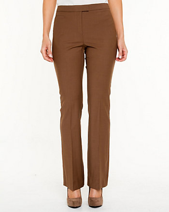 Tropical Wool Flared Pant