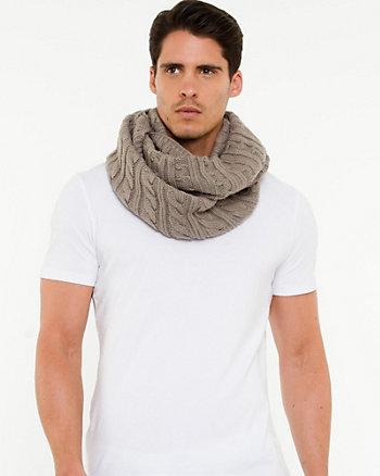 Écharpe tubulaire en tricot