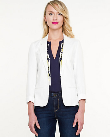 Challis Notch Collar Blazer