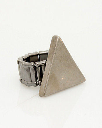 Metal Triangle Ring