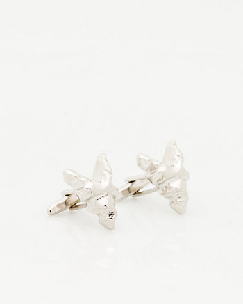 Metal Fox Icon Cufflink