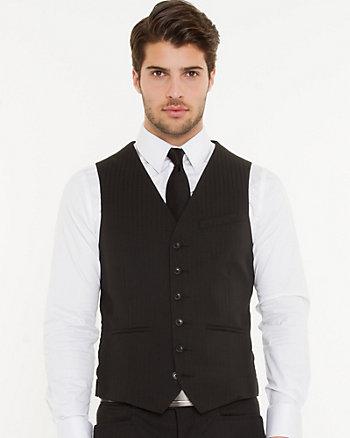 Tonal Jacquard City Fit Vest
