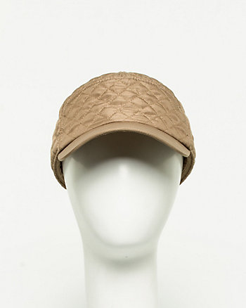 Diamond Stitch Kepi Cap