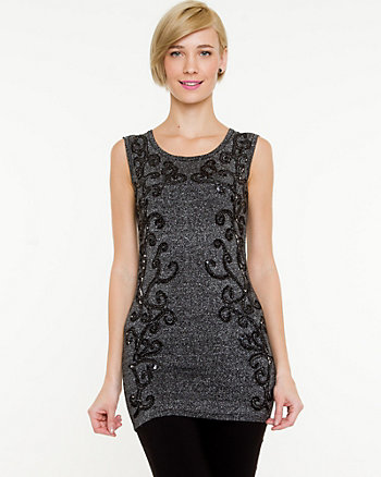 Mirrored Embellishment Tunic