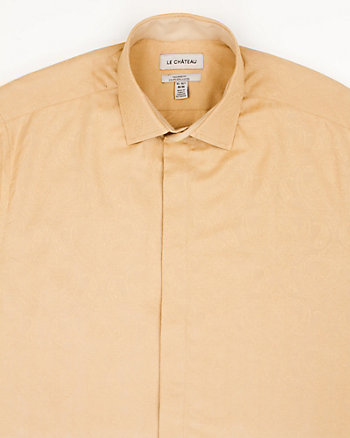 Jacquard Tailored Fit Shirt