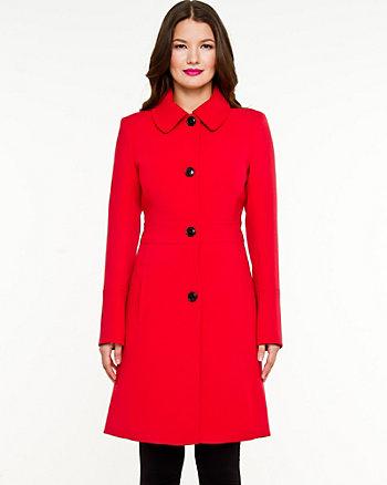 Double Weave Lightweight Coat