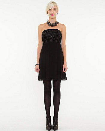 Chiffon Tube Dress