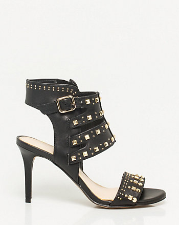 Leather Stud Sandal